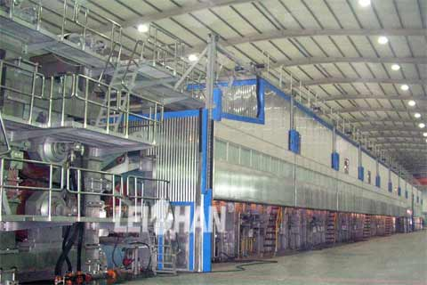 200t/d kraft paper production sytem in Iran