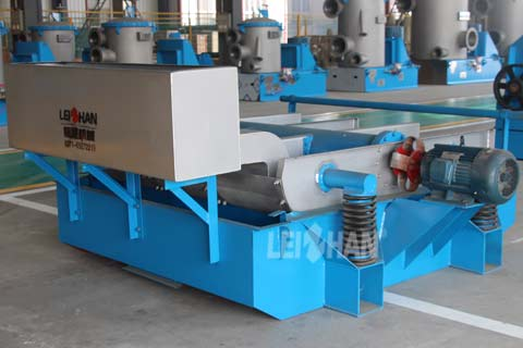 High Frequency Vibrating Screen Pulping Machine