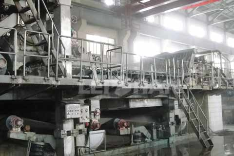 100tpd-waste-newspaper-recycling-line